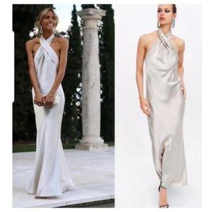 Zara limited edition halter dress (2684)